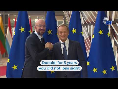 Charles Michel takes over as European Council President - Highlights