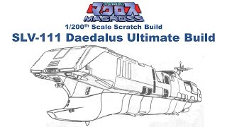 Macross Robotech 6 Foot Long Ultimate SLV-111 Daedalus Build