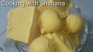 Mango icecream - Very Easy Method - Quick Mango icecream Recipe