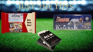 Just the Hits - Recap of Last Week's hits - Bowman Sterling , All In , Hawk to the Rescue