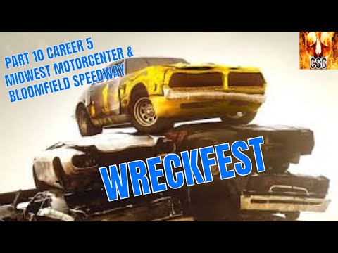 Let's Play Wreckfest Part 10 Career 5-Midwest Motorcenter & Bloomfield Speedway