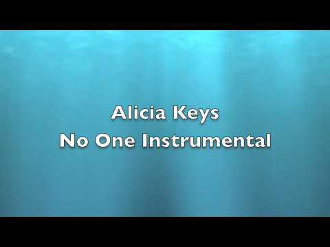Alicia Keys - No One Instrumental
