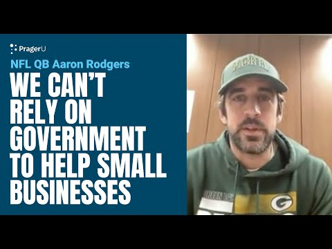 NFL QB Aaron Rodgers: We can't rely on government to help small businesses