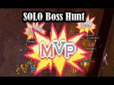 """Solo MVP Boss Hunt Ragnarok Online Philippines """"ROPH"""""""