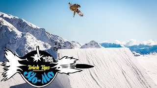 Slo Mo Trick Tips – How To Backside Double Cork 1080 On A Snowboard