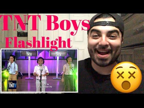 Reacting to TNT Boys Flashlight.