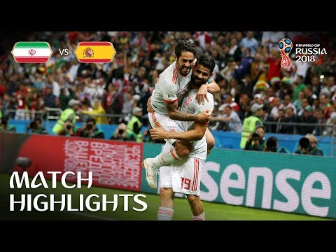 IR Iran v Spain - 2018 FIFA World Cup Russia™ - Match 20