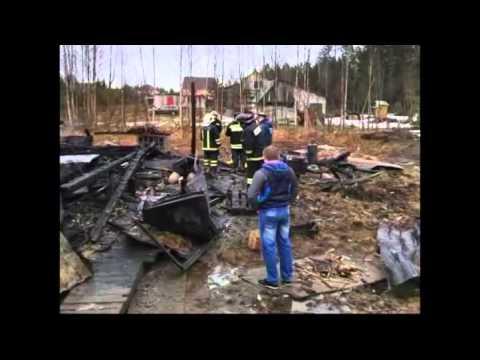 В результате взрыва газового баллона в Агалатово по...