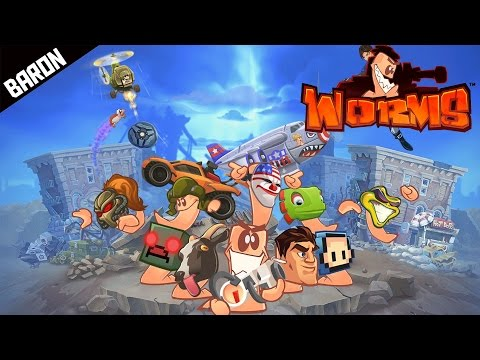 DEATH SATELLITE and Carpet Bombing! Worms W.M.D. Multiplayer