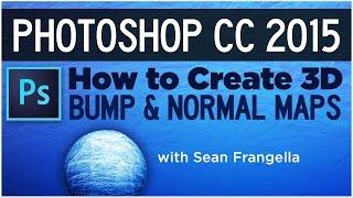 Comment créer des cartes normales et bump maps dans Photoshop CC 2015 Tutoriel - Sean Frangella