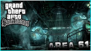 HO ESPLORATO LA ZONA SEGRETA DELL AREA 51! 👽 GTA SAN ANDREAS ITA FULL HD GAMEPLAY - PS4