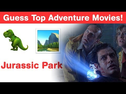 Can You Guess Top 11 Adventure Movies in This Hollywood Emoji Challenge?