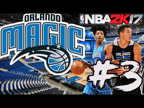 WHAT TO DO WITH DEANDRE JORDAN!? - NBA 2K17 MyGM ORLANDO MAGIC! #3