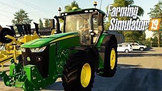 FARMING SIMULATOR 19 #39 - PRENDIAMO UN JOHN DEERE 8R w/Robymel81 - NF MARSCH ITA