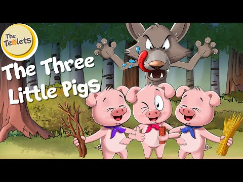 the-three-little-pigs-musical-story-i-bedtime-stories-i-the-teolets-|-fairy-tales-|-cartoon