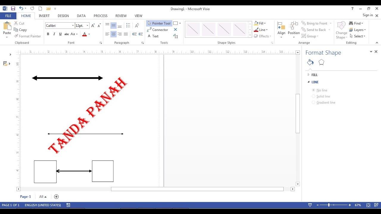 Cara membuat garis panah di visio 2013 youtube cara membuat garis panah di visio 2013 ccuart Gallery