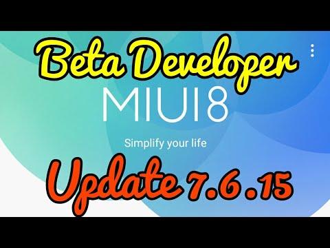 Miui 8 Update 7.6.15 Beta Developer Weekly | Hindi