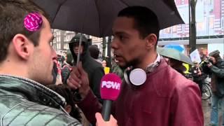 Sint-intocht in Amsterdam loopt uit de hand