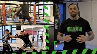 MMA Training mit Christian Eckerlin l Sparring l Zec+