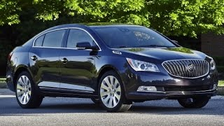 2015 Buick Lacrosse Start Up and Review 3.6 L V6