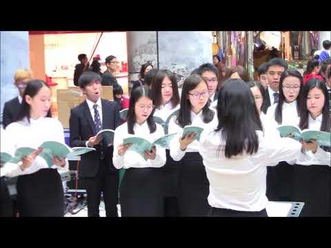 香港大學學生會合唱團 Hong Kong University Students Union Choir 2017 12 23 1228 太古城中心