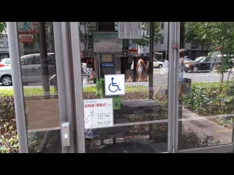 Public phone for peaple with disabilities. In Kyoto.