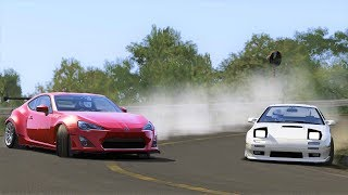Close Touge Battle on Usui! GT86 vs Rx7 FC! - Assetto Corsa