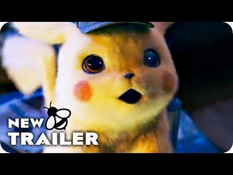 POKEMON DETECTIVE PIKACHU Trailer (2019) Ryan Reynolds Pokémon Movie