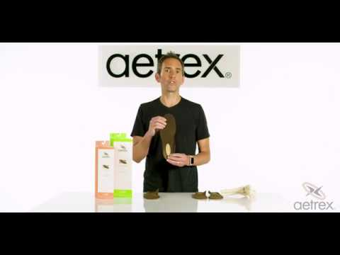 Aetrex Compete Orthotics Series | Insoles for Active Lifestyle