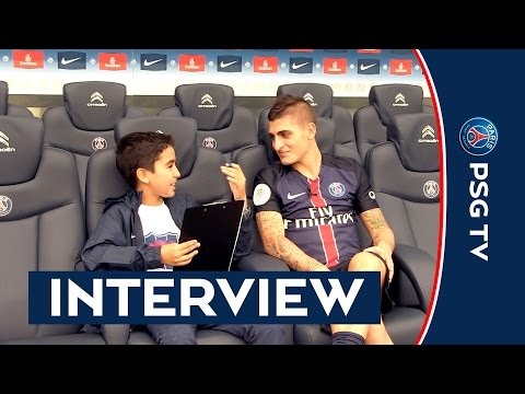 INTERVIEW MARCO VERRATTI - JUNIOR CLUB