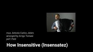 How Insensitive (Insensatez) - accordion