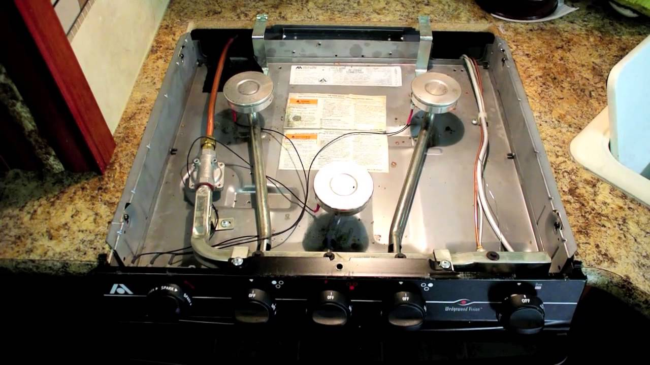 RV Maintenance: Cleaning your Atwood range burners
