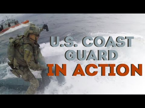 U.S. Coast Guard In Action