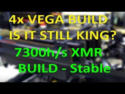 VLOG #81 Radeon RX Vega 56 and 64 still the best on Cryptonight? 4x RV Vega 56/64 Mining build