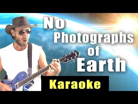 No Photographs of Earth - Karaoke Version