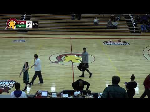 Triton College Women's Basketball vs COD - 1/25/2020