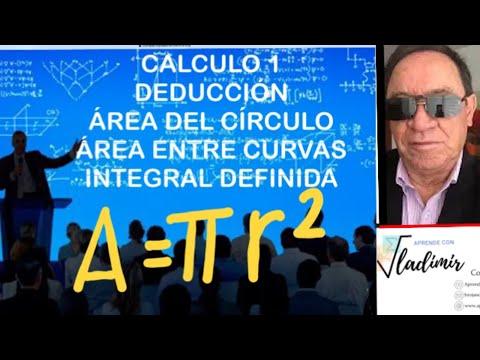 AREA DEL CIRCULO. ALIC DE LA INTEGRAL EJ 65