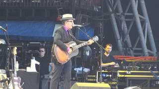 "Elvis Costello - ""Tramp The Dirt Down"" - Glastonbury Festival, 29th June 2013"