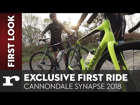 Exclusive first ride - Cannondale Synapse 2018