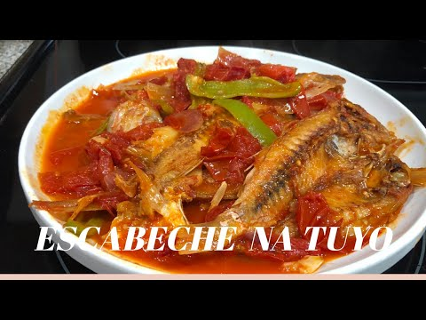 EASY ESCABECHE RECIPE /  PANLASANG PINOY