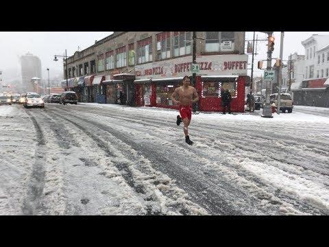 CRAZY SNOW RUN WITH PECTUS EXCAVATUM