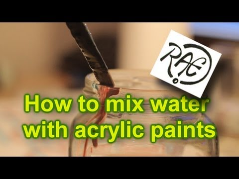Reduce Acrylic Enamel With Paint Thinner