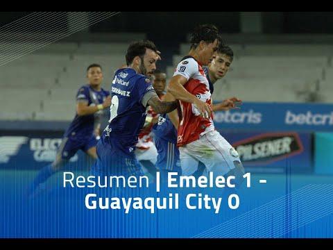 Resumen: Emelec 1 - Guayaquil City 0