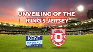 THE UNVEILING OF THE KING'S JERSEY