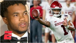 Kyler Murray on his NFL vs. MLB decision: 'End of the day, I'm a football player' | 2019 NFL Draft
