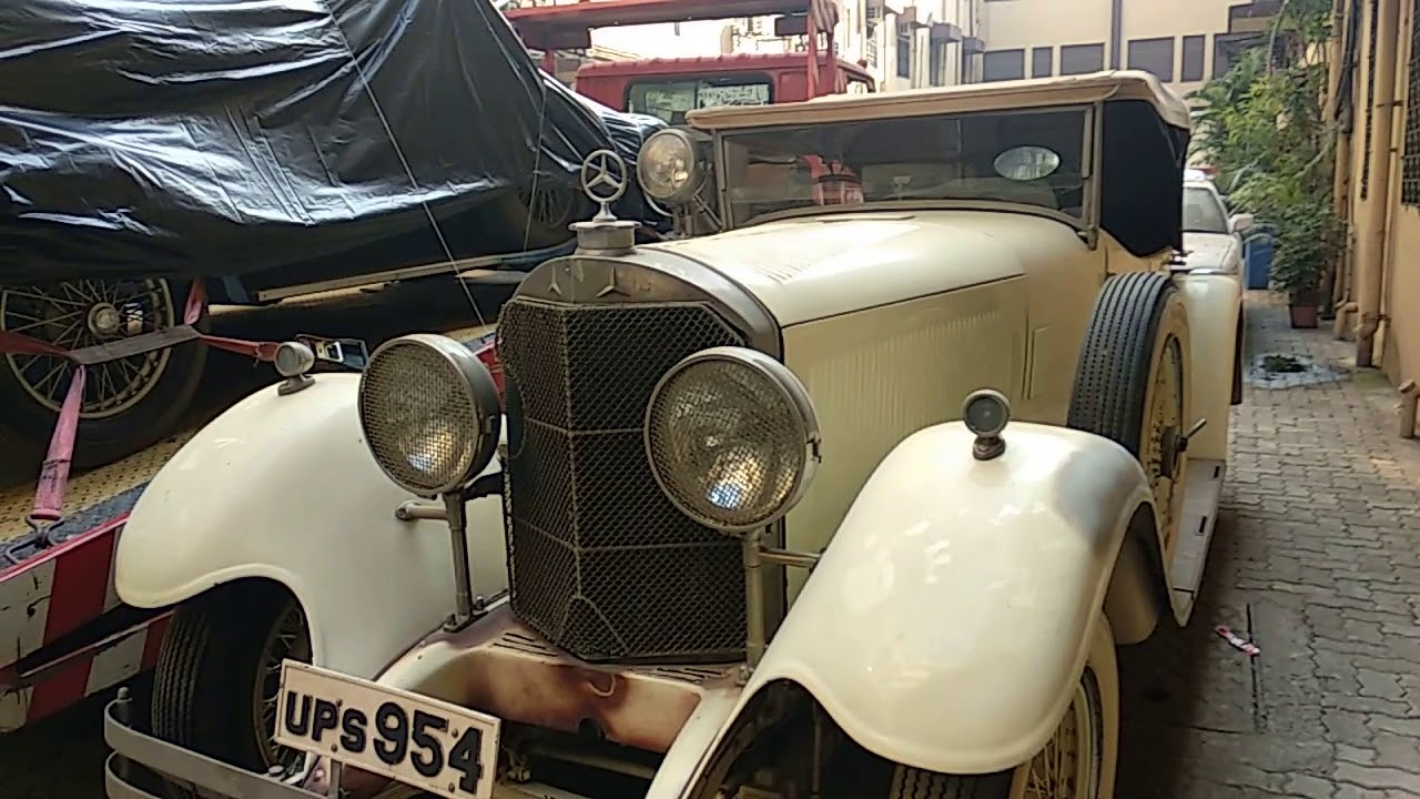 oldest Mercedes-Benz car in India, Vijay malya old car collection ...