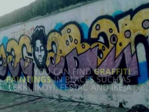 The Art Of Graffiti Grows In Lagos | Pulse TV