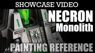 Painted Necron Monolith Warhammer 40k Showcase | HD Images and Video