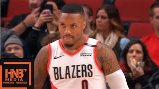 New Orleans Pelicans vs Portland Trail Blazers 1st Qtr Highlights | 11.01.2018, NBA Season