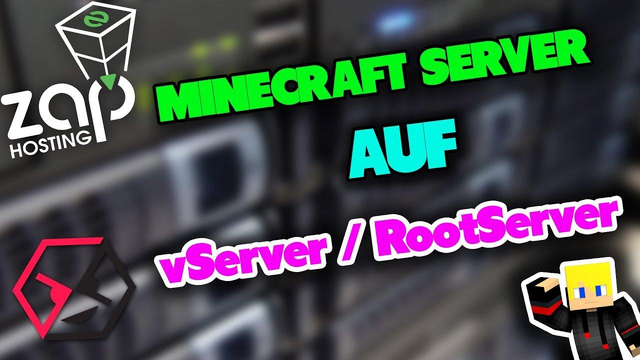 Minecraft Server Auf VServer Installieren Minecraft Server - Minecraft server erstellen vserver